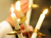 """Festtage """"Darstellung des Herrn (Mariä Lichtmess)"""" am 2. Februar und Gedenktag des Heiligen Blasius am 3. Februar"""